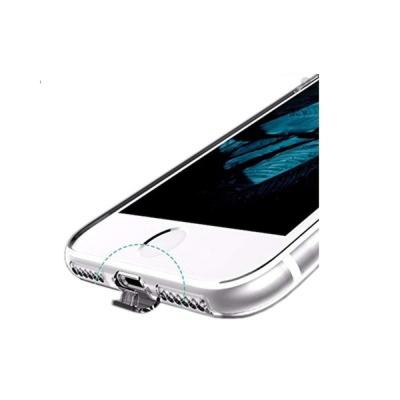 Toptan Xiaomi Redmi Note 9 Tıpalı Şeffaf Silikon Kılıf